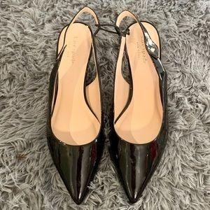 Brand New Kate Spade Shiloh Leather Kitten Pumps